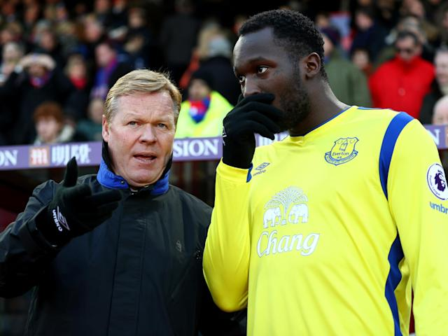 Lukaku has told Everton that he will not sign a new contract: Getty