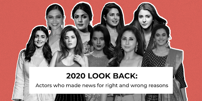 2020 Look Back: Actors who made news for right and wrong reasons