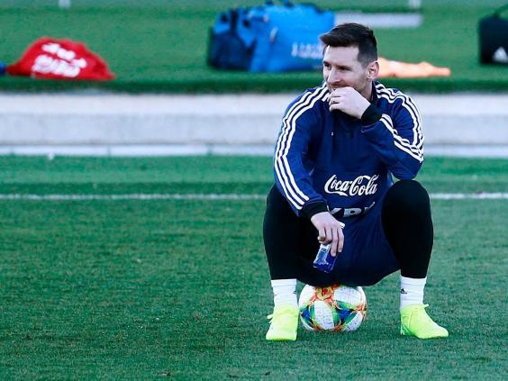 Lionel Messi returned to the Argentina international side last month (AFP/Getty)