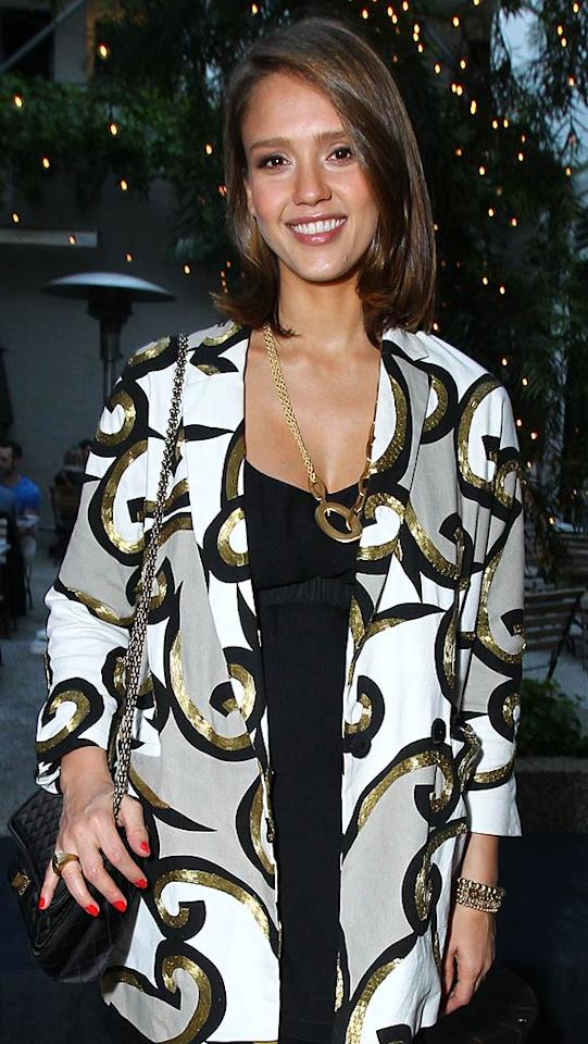"Jessica Alba turns 30 Alexandra Wyman/<a href=""http://www.wireimage.com"" target=""new"">WireImage.com</a> - April 20, 2011"