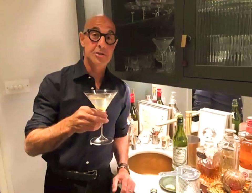 Stanley Tucci is somewhat of a culinary genius. (Getty Images)