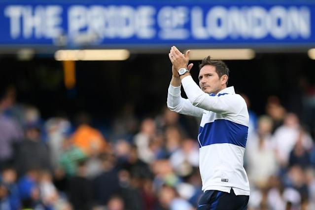 Frank Lampard is still waiting for his first win as Chelsea manager (AFP Photo/Daniel LEAL-OLIVAS)