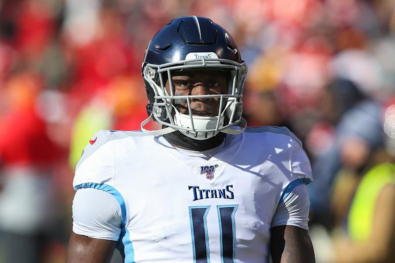 Tennessee Titans wide receiver A.J. Brown (11)