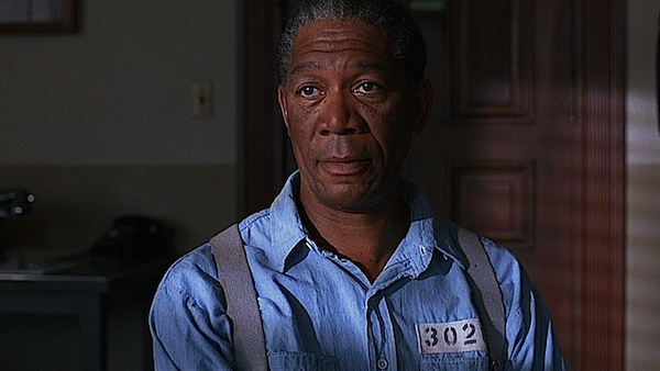 Morgan Freeman in 'The Shawshank Redemption'