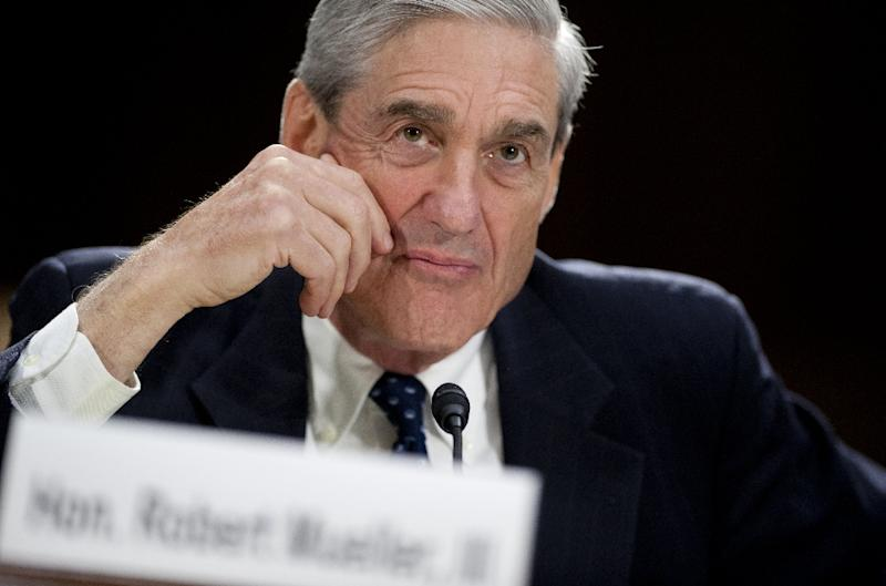 Special Counsel Robert Mueller, a former FBI chief, heads the investigation into Russian interference in the 2016 presidential election and possible collusion between Donald Trump's campaign and Moscow (AFP Photo/SAUL LOEB)