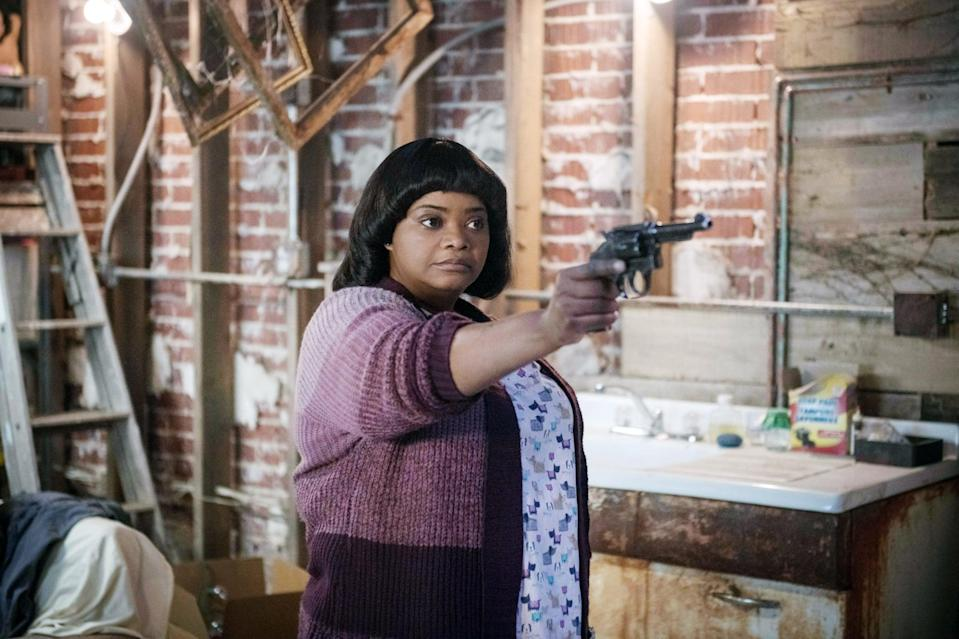 """<p>In this Blumhouse horror film, Octavia Spencer plays Sue Ann, a loner who finds companionship in her small Ohio town in the form of a group of teenagers looking for a safe place to party. But because this is a thriller, this isn't a touching story about a kindhearted group of teenagers bringing a lonely older woman out of her shell. Will the kids survive the night? </p> <p>Watch <a href=""""https://play.hbomax.com/page/urn:hbo:page:GXerCZQ7afEytlAEAAAjc:type:feature"""" class=""""link rapid-noclick-resp"""" rel=""""nofollow noopener"""" target=""""_blank"""" data-ylk=""""slk:Ma""""><strong>Ma</strong></a> on HBO Max now.</p>"""