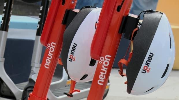 Neuron is now operating in Calgary with 750 e-scooters to rent.