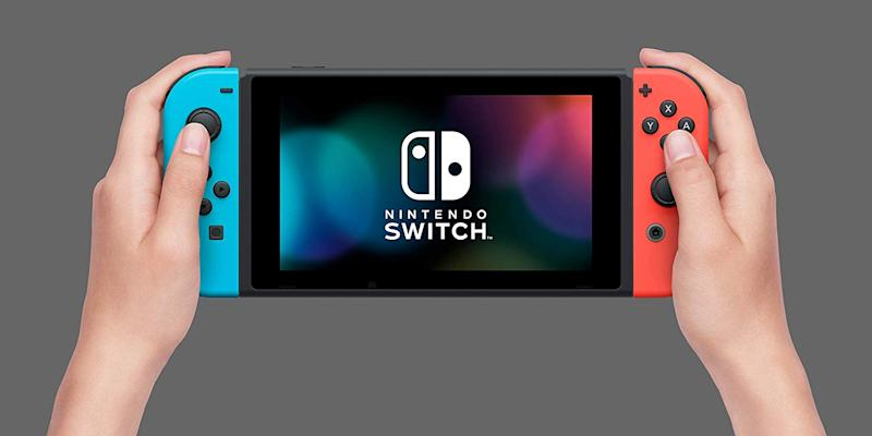 Kids need a Nintendo Switch with Neon Red and Neon Blue Joy-Con to rock out to Just Dance 2020.