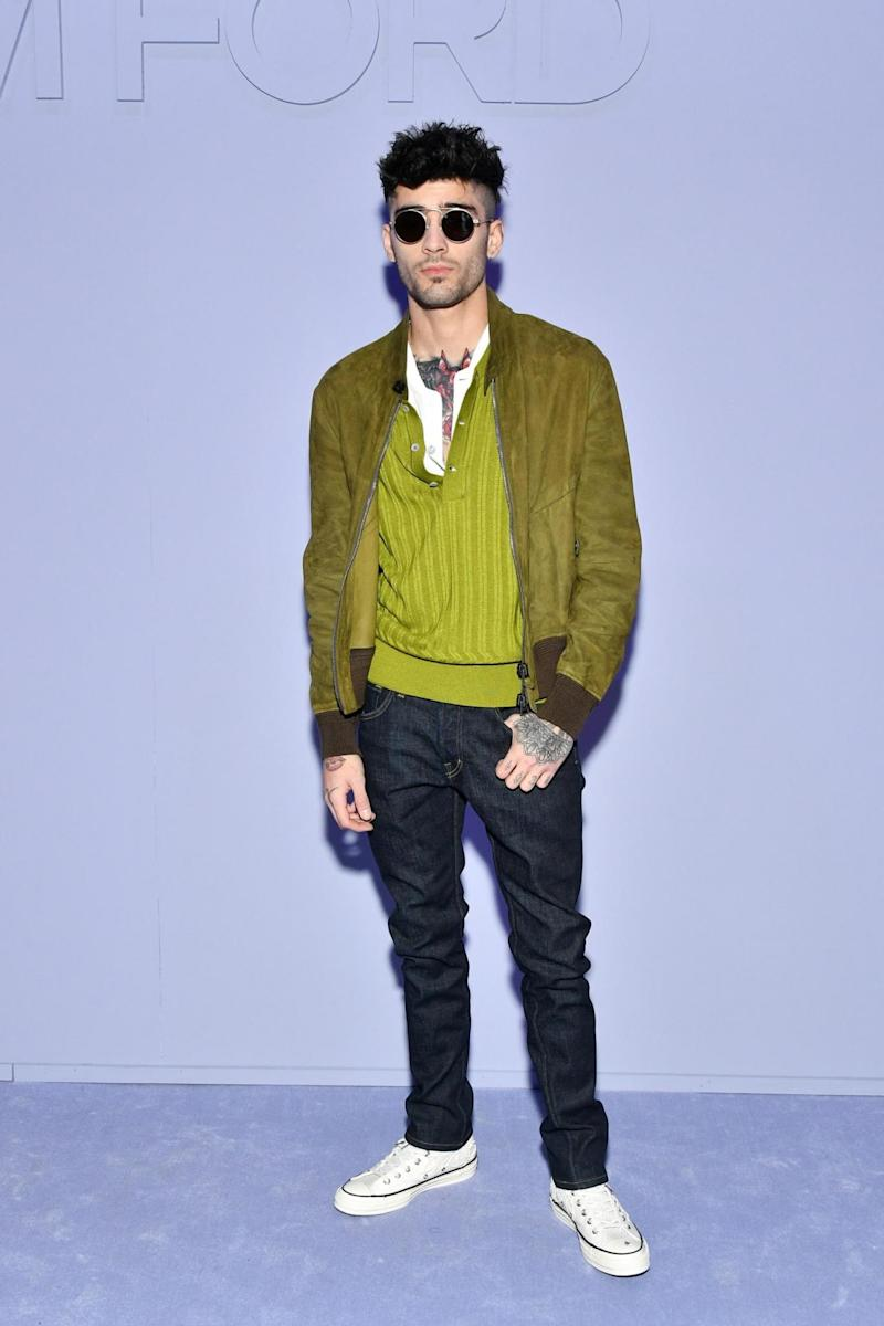 Zayn Malik at Tom Ford (Getty Images)
