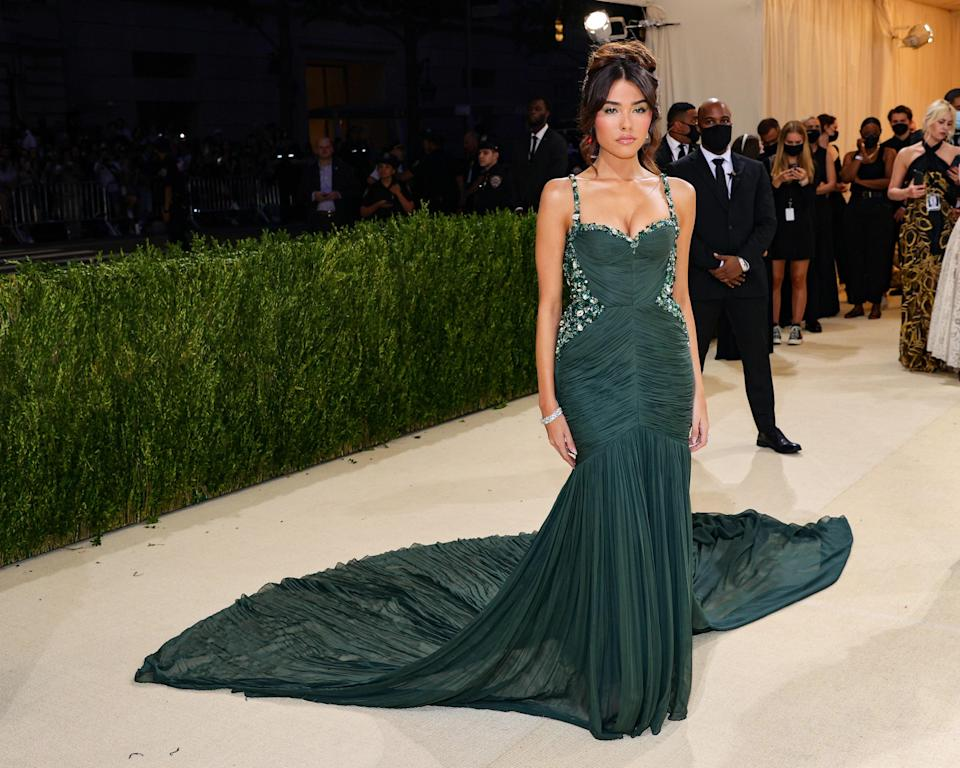 """<h1 class=""""title"""">Madison Beer, The 2021 Met Gala Celebrating In America: A Lexicon Of Fashion - Arrivals</h1><cite class=""""credit"""">Getty</cite>"""