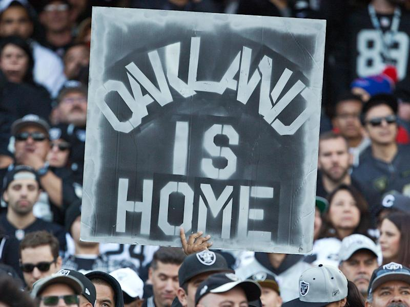 Many Oakland fans have been vocal in their opposition to the move to Las Vegas: Getty