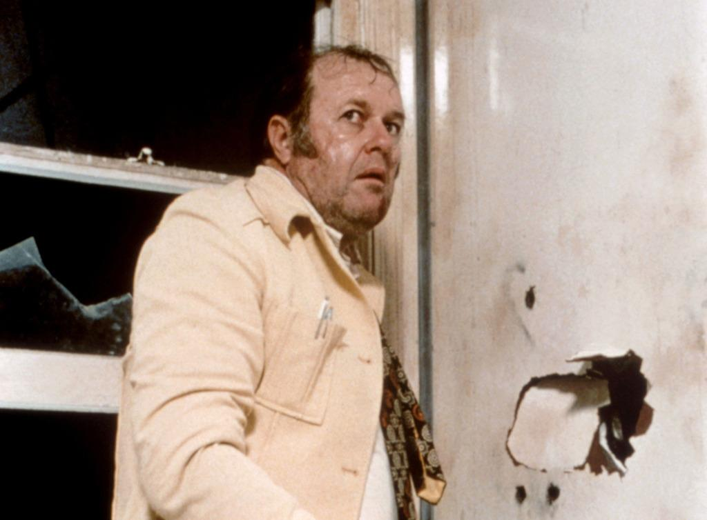 <p>That's a line spoken by private detective Visser (M. Emmett Walsh) in the 1984 movie <i>Blood Simple</i>. (Credit: Everett Collection)</p>
