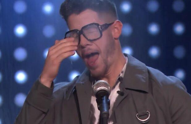 Jimmy Fallon Remembers the Lyrics to 'Sucker' and Nick Jonas Gets Soaked (Video)