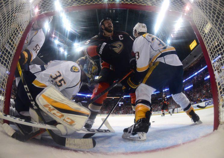 Back home, Predators eager to match Ducks' physical play