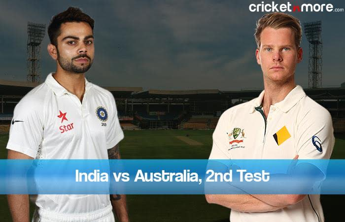 India eye strong comeback against confident Australia in Bangalore Test
