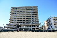 As a result of the war the Turkish troops keep the hotel city of Varosha at Famagusta as a kind of hostage on November 18, 2014. The ghost city at the seaside was once the most touristic place of the island. (photo: Wassilios Aswestopoulos/Nurphoto) (Photo by NurPhoto/NurPhoto via Getty Images)