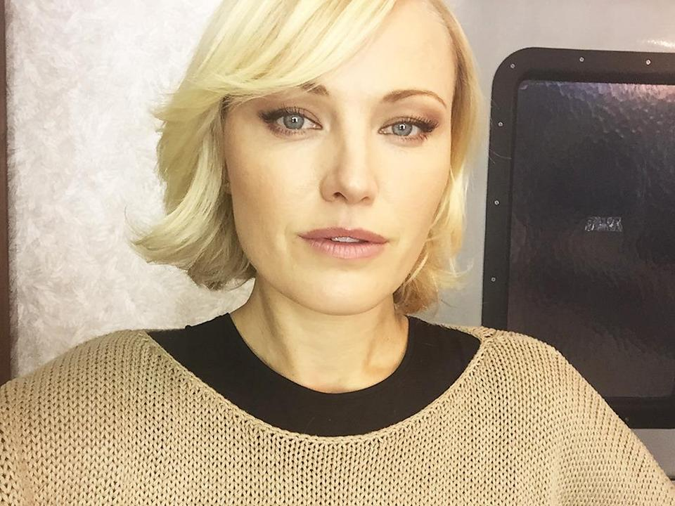 """<p>Tada! Your loving ice queen, Lara Axelrod, is ready for business #billions — <a href=""""https://www.instagram.com/therealmalinakerman/"""" rel=""""nofollow noopener"""" target=""""_blank"""" data-ylk=""""slk:@therealmalinakerman"""" class=""""link rapid-noclick-resp"""">@therealmalinakerman</a></p>"""