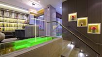 """<p>This wonderful spa in the centre of London oozes French elegance, with its sophisticated interior and service. The Sofitel Spa at <a href=""""https://go.redirectingat.com?id=127X1599956&url=https%3A%2F%2Fwww.booking.com%2Fhotel%2Fgb%2Fst-james-london.en-gb.html%3Faid%3D1922306%26label%3Dspa-hotels-london&sref=https%3A%2F%2Fwww.goodhousekeeping.com%2Fuk%2Flifestyle%2Ftravel%2Fg37472138%2Fspa-hotel-london%2F"""" rel=""""nofollow noopener"""" target=""""_blank"""" data-ylk=""""slk:Sofitel London St James"""" class=""""link rapid-noclick-resp"""">Sofitel London St James</a> boasts three sun-drenched floors of intimate treatment rooms. You'll find high, ornate ceilings that you can admire from this beautiful space.</p><p>When it comes to the treatments, a HydraFacial experience is a must. The solution to detoxifying and deeply cleansed skin on your city break, the array of facials from Sofitel Spa's partnership with HydraFacial leave you glowing. Of course, it's not all about the high-tech facials at this spa as you can choose from slipping, purifying and relaxing body and face experiences from the menu that incorporates products from prestigious French brands, Codage Paris and Cinq Mondes.</p><p><a class=""""link rapid-noclick-resp"""" href=""""https://go.redirectingat.com?id=127X1599956&url=https%3A%2F%2Fwww.booking.com%2Fhotel%2Fgb%2Fst-james-london.en-gb.html%3Faid%3D1922306%26label%3Dspa-hotels-london&sref=https%3A%2F%2Fwww.goodhousekeeping.com%2Fuk%2Flifestyle%2Ftravel%2Fg37472138%2Fspa-hotel-london%2F"""" rel=""""nofollow noopener"""" target=""""_blank"""" data-ylk=""""slk:CHECK AVAILABILITY"""">CHECK AVAILABILITY</a></p>"""