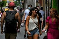 Spain has now dropped its requirement for people to wear masks outdoors