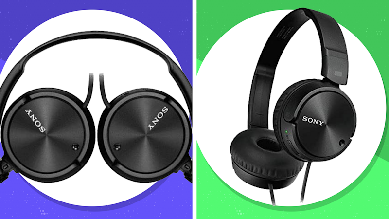 Get these Sony Noise-Canceling Headphones (MDRZX110NC) for just $38. (Photo: Sony)