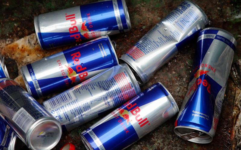 Under the Government proposals, sales of energy drinks to under 16s will be banned  - Reuters