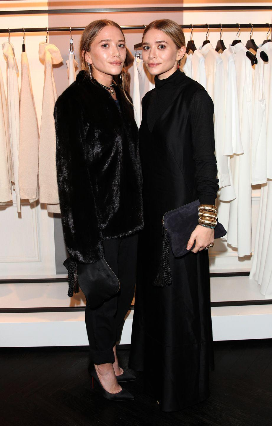 "<p>While the Olsen twins have taken a step out of the TV and film spotlight, they are now two of the most successful designers in the fashion industry. Their couture label <a href=""https://www.therow.com/"" rel=""nofollow noopener"" target=""_blank"" data-ylk=""slk:The Row"" class=""link rapid-noclick-resp"">The Row</a> and contemporary collection <a href=""http://www.elizabethandjames.us/"" rel=""nofollow noopener"" target=""_blank"" data-ylk=""slk:Elizabeth & James"" class=""link rapid-noclick-resp"">Elizabeth & James</a> have gained huge followings amongst fashion's elite, as well as everyday women.</p>"