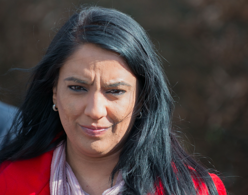<em>Naz Shah claims she retweeted comments about the Rotherham sex scandal by accident (Rex)</em>
