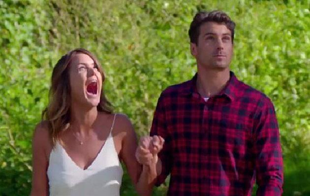 Matty let Cobie down in the worst way possible. Source: Channel 10