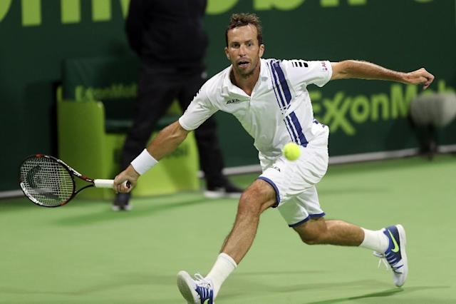 Injury-plagued veteran Radek Stepanek said on November 14, 2017 he would quit tennis after a professional career spanning 21 years and including two Davis Cup and two grand-slam doubles titles (AFP Photo/KARIM JAAFAR)