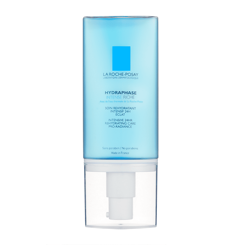 """<p>Formulated to help your skin retain water, this hyaluronic-acid-infused <a href=""""https://www.popsugar.com/buy/La-Roche-Posay-Hydraphase-Skin-Treatment-295319?p_name=La%20Roche-Posay%20Hydraphase%20Skin%20Treatment&retailer=walgreens.com&pid=295319&price=36&evar1=bella%3Aus&evar9=46158385&evar98=https%3A%2F%2Fwww.popsugar.com%2Fbeauty%2Fphoto-gallery%2F46158385%2Fimage%2F46391535%2FLa-Roche-Posay-Hydraphase-Intense-Riche-Skin-Treatment&list1=beauty%20products%2Cspf%2Csunscreen%2Csummer%2Cmoisturizer%2Csummer%20beauty%2Cface%20cream%2Cbeauty%20trends%2Cskin%20care&prop13=mobile&pdata=1"""" class=""""link rapid-noclick-resp"""" rel=""""nofollow noopener"""" target=""""_blank"""" data-ylk=""""slk:La Roche-Posay Hydraphase Skin Treatment"""">La Roche-Posay Hydraphase Skin Treatment</a> ($36) feels good on your skin throughout the day.</p>"""