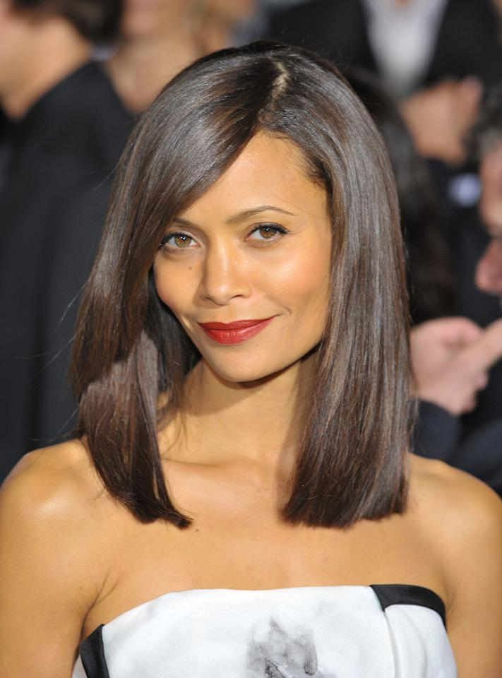 """<a href=""""http://movies.yahoo.com/movie/contributor/1800018708"""">Thandie Newton</a> at the Los Angeles premiere of <a href=""""http://movies.yahoo.com/movie/1810045661/info"""">2012</a> - 11/03/2009"""