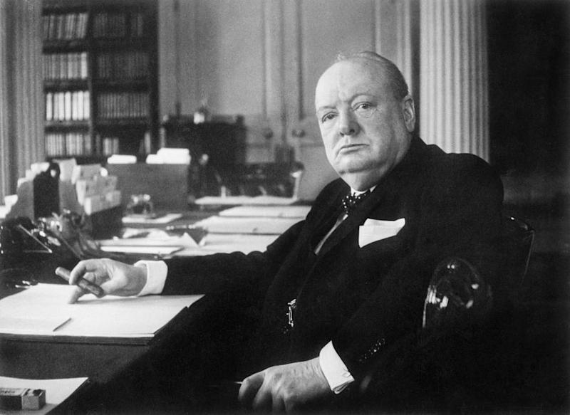 Winston Churchill: Queen Elizabeth II