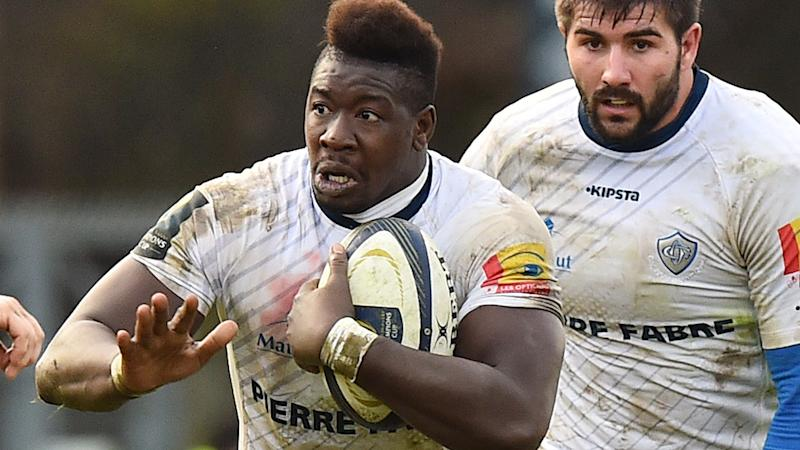 Ibrahim Diarra, pictured here with the ball during the 2014 European Rugby Champions Cup.
