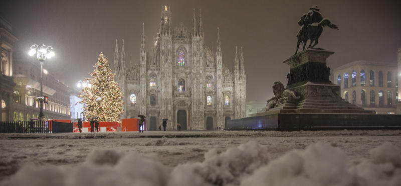 Milano, piazza Duomo (Getty Images)