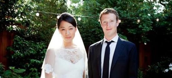Mark Zuckerberg marries Priscilla Chan.