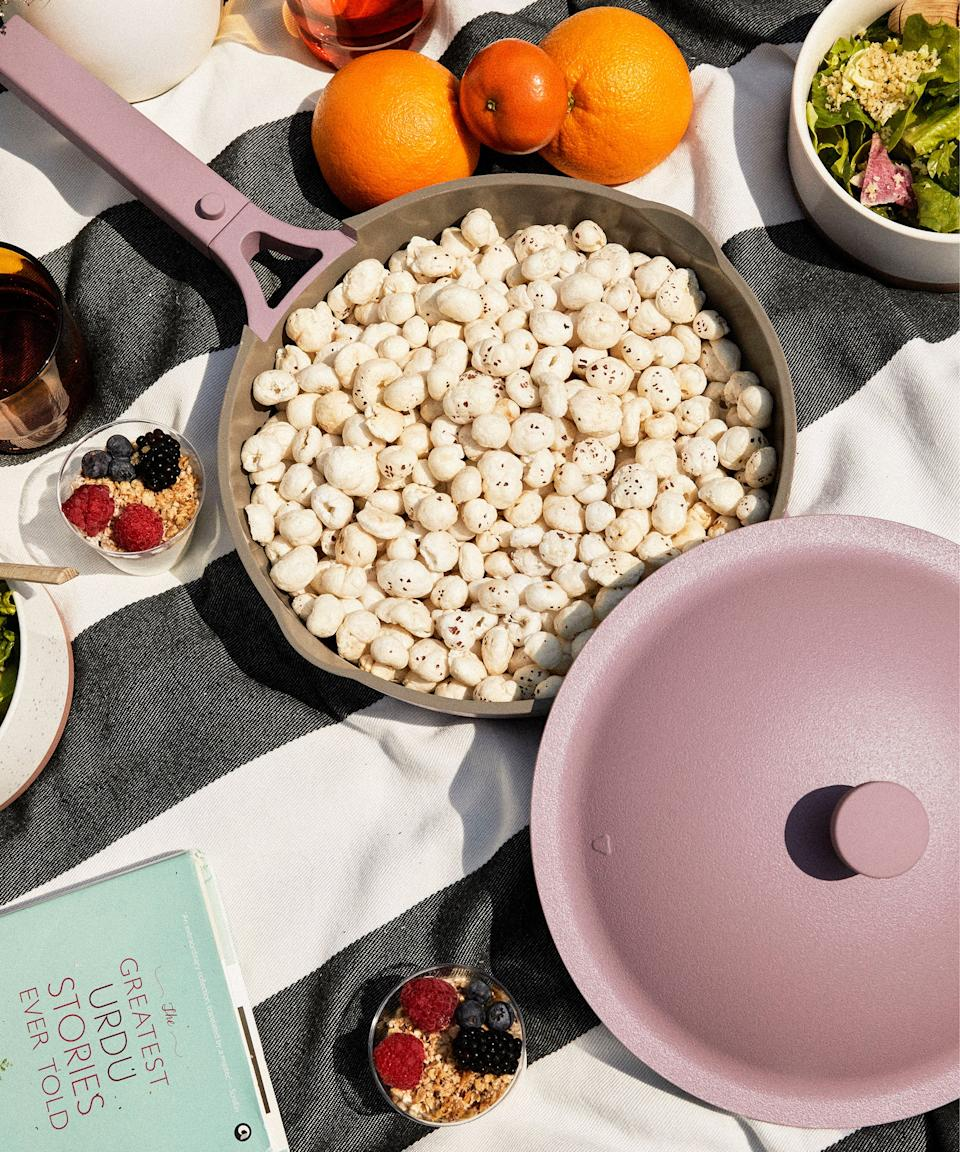 """<h2>Always Pan</h2><br>You've probably already heard about this do-all pan, but allow us to tell you more. This cult-favorite can steam, saute, boil and fry, making it essential for any level of culinary skill.<br><br><strong>Our Place</strong> Always Pan, Lavender, $, available at <a href=""""https://go.skimresources.com/?id=30283X879131&url=https%3A%2F%2Ffromourplace.com%2Fproducts%2Falways-essential-cooking-pan"""" rel=""""nofollow noopener"""" target=""""_blank"""" data-ylk=""""slk:Our Place"""" class=""""link rapid-noclick-resp"""">Our Place</a>"""