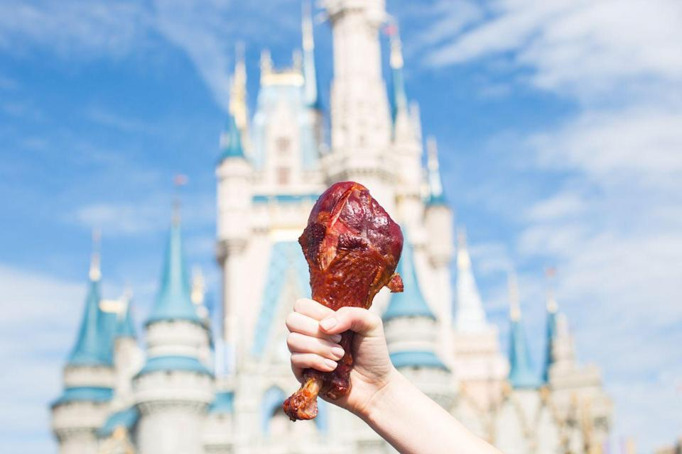 <p>The turkey leg at Disney is a must-have. It first launched in the late '80s in Magic Kingdom and it's gone on to maintain a reputation as something you've <em>gotta </em>try before you leave the parks.</p>