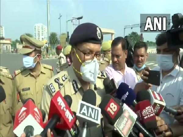 DK Thakur, Lucknow Police Commissioner (Photo/ANI)
