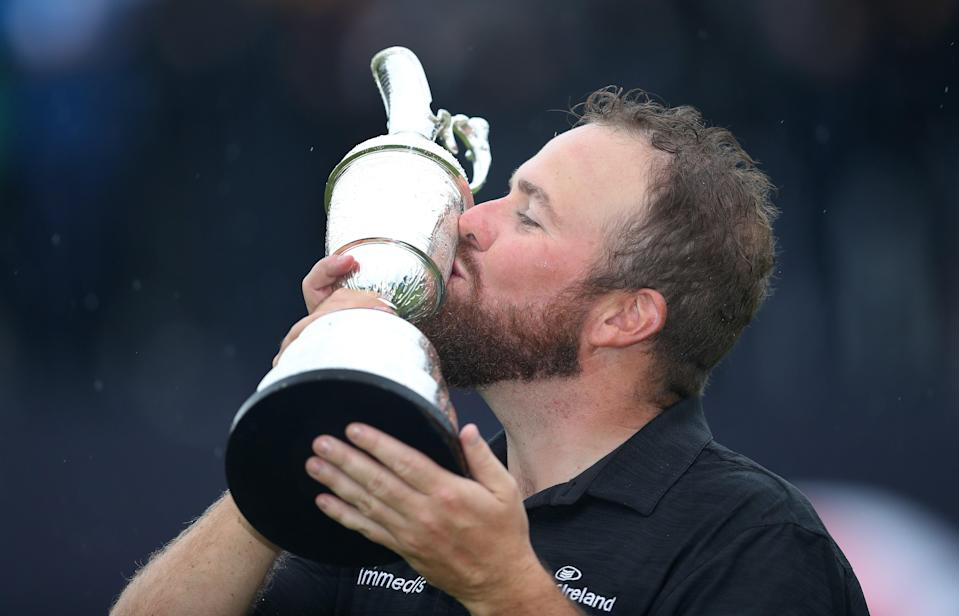 Shane Lowry celebrates with the Claret Jug after winning the 2019 Open (PA Wire)