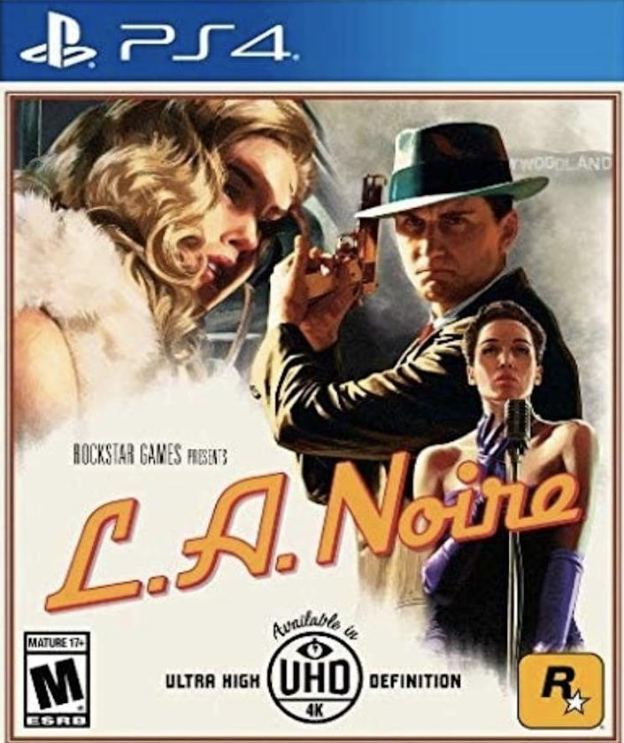<p>Get excited! The <span>Rockstar Games L.A. Noire PS4</span> ($23, originally $30) comes complete with the original game and all additional downloadable content, plus new collectibles and detective suits to unlock.</p>