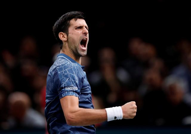 <p>Born 22 May 1987 (age 31) in Belgrade, Serbia<br>188cm (6ft 2in)<br>2018 record: 49-11 (81.7%)<br>Career high: No.1<br>14 Grand Slam singles titles, 72 career titles in total<br>Current highest earner in tennis: $121,015,589 prize money<br>5th year end as No.1<br>The only male player to have won all nine of the Masters 1000 tournaments<br>Twitter followers: 8.5m<br>Instagram: 4.6m<br>Fun fact: briefly appeared in music video Hello by Martin Solveig<br>(Photo source: Reuters) </p>
