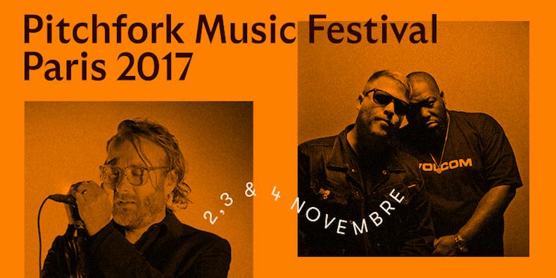 Pitchfork Music Festival Paris 2017 Lineup: The National, Run the Jewels, Ride, More