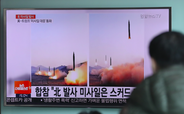 North Korea claims it conducts missile launching drills on regular basis