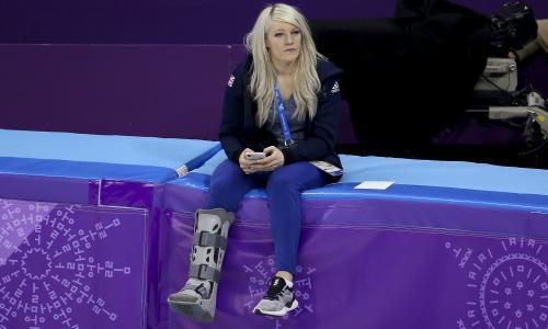 Elise Christie may take up long-track skating after Winter Olympics pain