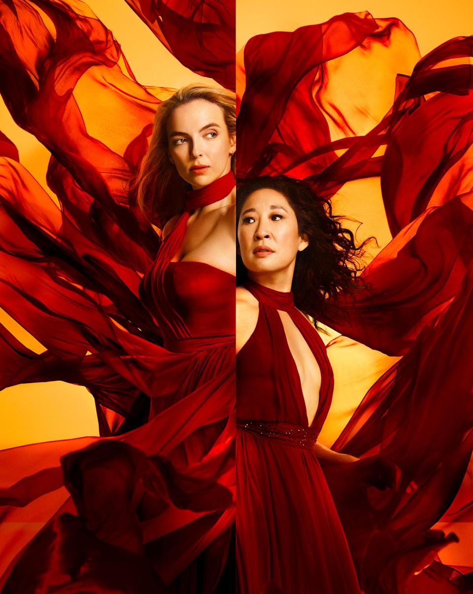 Killing Eve topped the most-requested programmes on BBC iPlayer. (Sid Gentle/BBC)