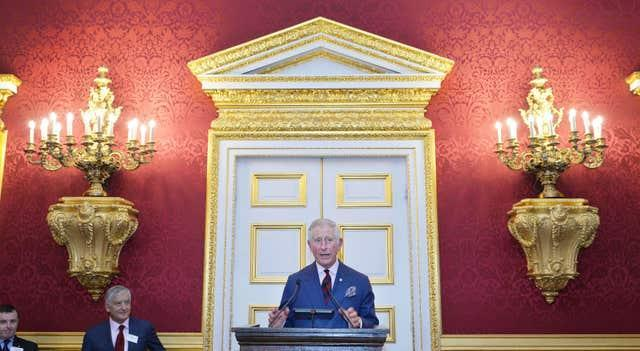 Royal reception for British Red Cross volunteers