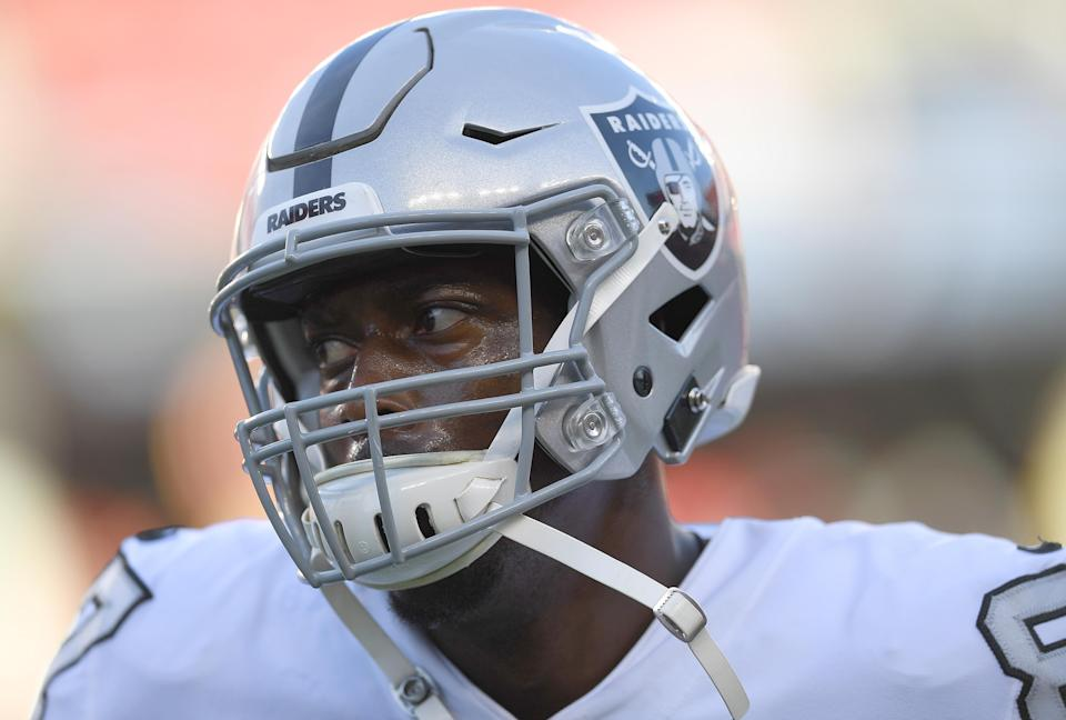Jared Cook did not appear interested in playing football on Sunday. (Getty)