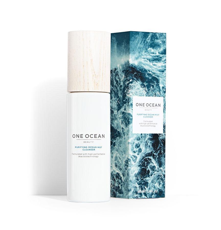 "<p><strong>One Ocean Beauty</strong></p><p>oneoceanbeauty.com</p><p><strong>$38.00</strong></p><p><a href=""https://oneoceanbeauty.com/products/purifying-ocean-mist-cleanser"" target=""_blank"">Shop Now</a></p><p>Activism is at the core of One Ocean Beauty, a vegan, sustainable beauty and wellness company launched in 2018. It both uses ingredients like algae from the ocean and champions conservation: From the get-go, One Ocean donated $250,000 to <a href=""https://oneoceanbeauty.com/pages/save-the-oceans"">Oceana</a>, an organization working globally with governments to better protect our seas.<br></p><p>The brand spans body care and skin care, and we're particularly fans of the facial cleanser pictured here. Boosted with Antarctic Ocean marine microorganism actives, it uses micellar technology to thoroughly remove makeup and other grime while leaving skin moisturized.</p>"