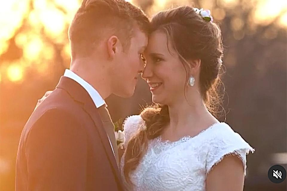 """<p>The <em>Counting On </em>star and Spivey <a href=""""https://people.com/tv/counting-on-justin-duggar-marries-claire-spivey/"""" rel=""""nofollow noopener"""" target=""""_blank"""" data-ylk=""""slk:tied the knot on Feb. 26"""" class=""""link rapid-noclick-resp"""">tied the knot on Feb. 26</a>, the couple announced on <a href=""""https://www.instagram.com/p/CLxzP5Mj5pL/"""" rel=""""nofollow noopener"""" target=""""_blank"""" data-ylk=""""slk:Instagram"""" class=""""link rapid-noclick-resp"""">Instagram</a>.</p> <p>Both Justin and Spivey<a href=""""https://people.com/tv/counting-on-justin-duggar-marries-claire-spivey/"""" rel=""""nofollow noopener"""" target=""""_blank"""" data-ylk=""""slk:shared a photo"""" class=""""link rapid-noclick-resp""""> shared a photo</a> from their special day, alongside the caption, """"2.26.21 💞.""""</p> <p>""""There is no greater joy than marrying your best friend,"""" the couple said in a statement to PEOPLE. """"We are thankful for the prayers and support so many have shown us through our engagement and look forward to this new chapter of our lives together as husband and wife.""""</p> <p>The couple's wedding comes three months after Justin announced in November 2020 that he and Spivey were <a href=""""https://people.com/tv/counting-on-justin-duggar-engaged-claire-spivey/"""" rel=""""nofollow noopener"""" target=""""_blank"""" data-ylk=""""slk:engaged"""" class=""""link rapid-noclick-resp"""">engaged</a>. He started courting her after the pair met in the spring of 2019.</p>"""