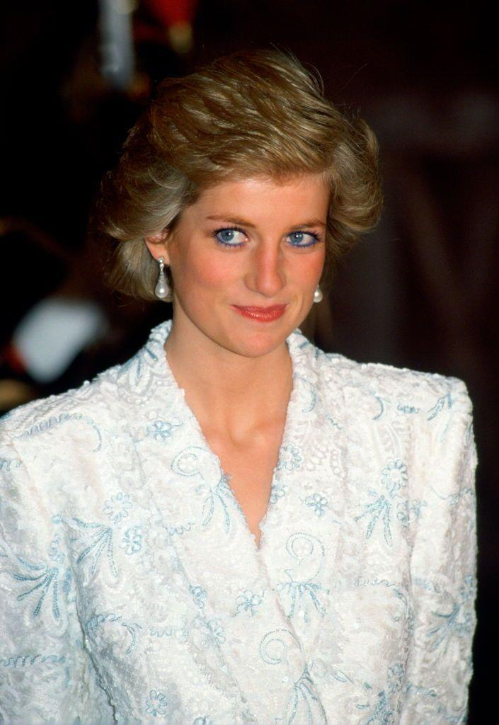 "<p>Princess Diana wore <a href=""https://www.prevention.com/beauty/a31751623/princess-diana-blue-eyeliner/"" rel=""nofollow noopener"" target=""_blank"" data-ylk=""slk:blue eyeliner for years"" class=""link rapid-noclick-resp"">blue eyeliner for years</a>, and it perfectly matched her eyes. However, her makeup artist <a href=""https://www.allure.com/story/princess-diana-blue-eyeliner"" rel=""nofollow noopener"" target=""_blank"" data-ylk=""slk:Mary Greenwell"" class=""link rapid-noclick-resp"">Mary Greenwell</a> later revealed that for official appearances Diana opted for more neutral colors that were ""appropriate for the occasion,"" since royals are supposed to keep their appearances subtle.</p>"